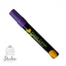 Меловой маркер Flash Color 6 мм, цвет фиолетовый