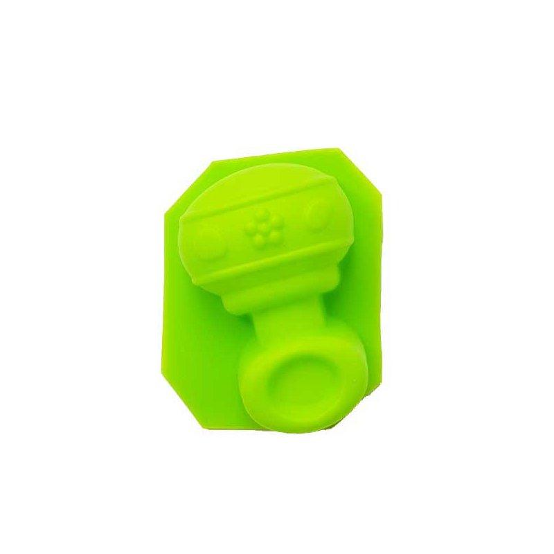 Силиконовая форма для мыла Пустышка, 7х4 см