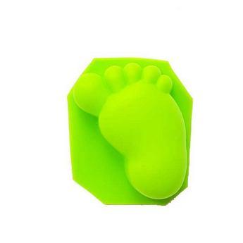 Силиконовая форма для мыла Ножка