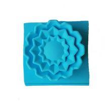 Силиконовая форма для мыла Цветок №3, 7х7 см