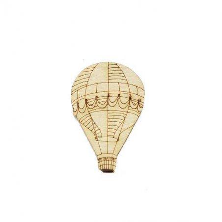 Деревянная заготовка Воздушный шар, 4х6 см