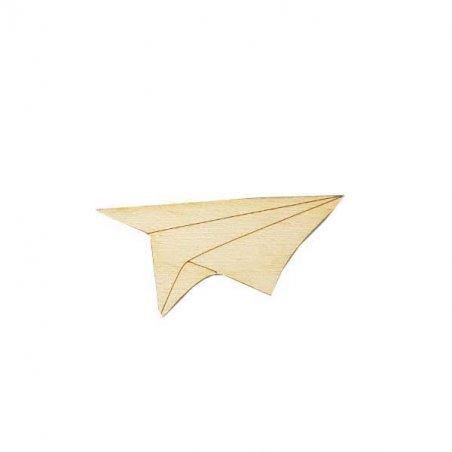 Деревянная заготовка Бумажный самолет, 6х3 см