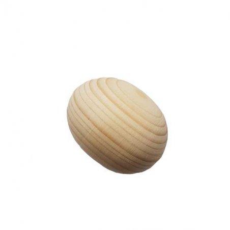 Деревянное яйцо маленькое 4,5 см
