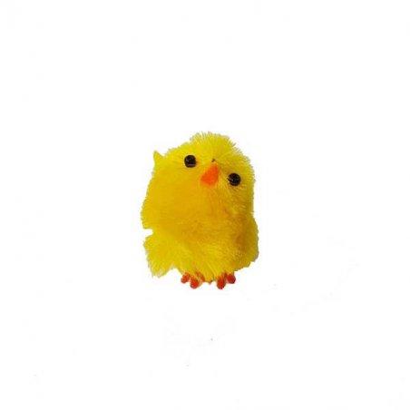 Пасхальный цыпленок желтый пушистый, 3 см