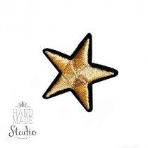 Термонашивка Звезда №3, 4х4 см