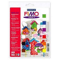 Набор полимерной глины Фимо Софт, 9 цветов по 25г 8023 10