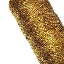 Шнур люрексовый, цвет золото 2мм