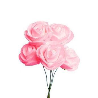 Маленькая розочка, цвет розовый