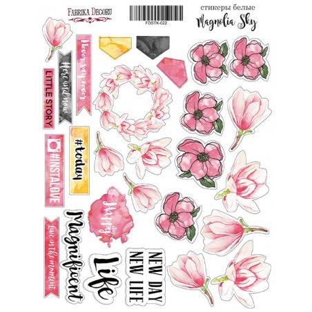 """Набор наклеек (стикеров) """"Magnolia sky"""", 022"""