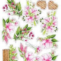 "Набор наклеек (стикеров) ""Spring blossom"", №010"