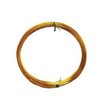 Проволока 1мм, цвет золото (10м)
