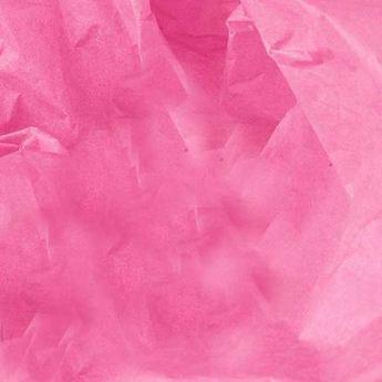 Бумага тишью, цвет - розовый, 50*70 см