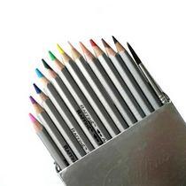Набор акварельных карандашей c кистью Raffine, 12шт