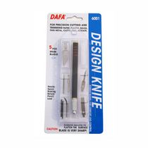 Макетный нож DAFA 6001 (5 лезвий+7насадок)