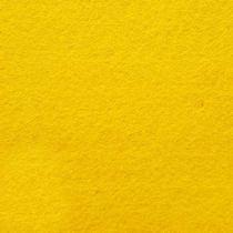 Фетр жесткий 1 мм, цвет желтый теплый