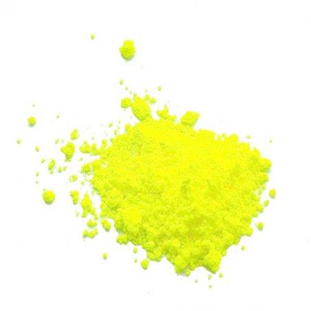 Флуоресцентная пудра (пигмент), цвет лимонный №19, 2г.