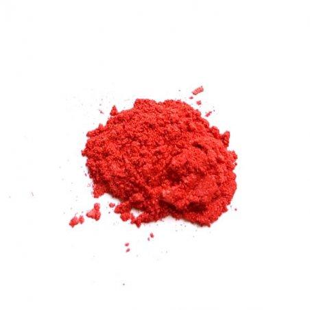 Перламутровая пудра (пигмент), цвет - красный №21, 2г.