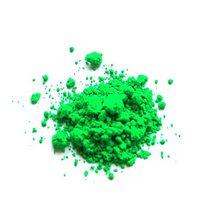 Флуоресцентная пудра (пигмент), цвет зеленый  №23, 2г.