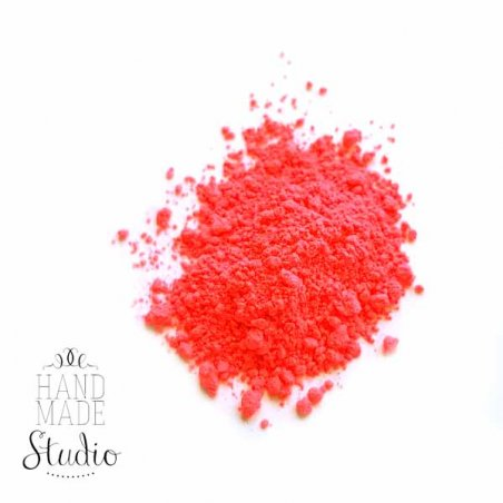 Флуоресцентная пудра (пигмент), цвет неоново-красный №17, 5 г