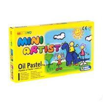 Набор масляной пастели MINI Mungyo MOPS-12, 12цветов