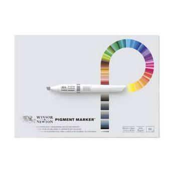 Склейка PAD для маркеров  Pigment marker А3, 75г/м2, 50л W&N