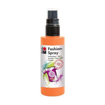 Краска-спрей для ткани Fashion-Spray Marabu, 100 мл., цвет оранжевый