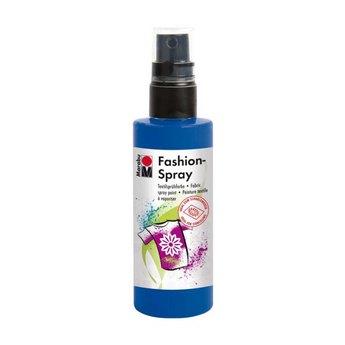 Краска-спрей для ткани Fashion-Spray Marabu, 100 мл., цвет синий