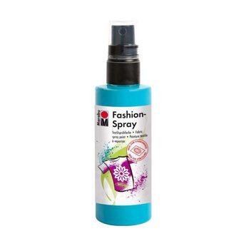 Краска-спрей для ткани Fashion-Spray Marabu, 100 мл., цвет голубой