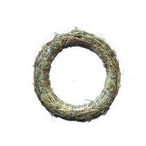 Венок из соломы, 24-25 см