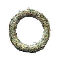 Венок из соломы, 28 см
