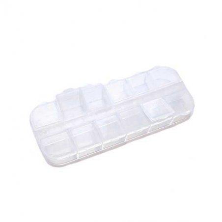 Органайзер для фурнитуры прозрачный 5*13 см