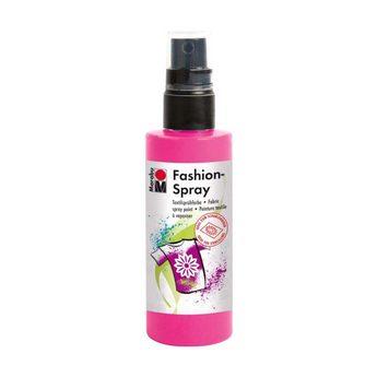 Краска-спрей для ткани Fashion-Spray Marabu, 100 мл., цвет розовый