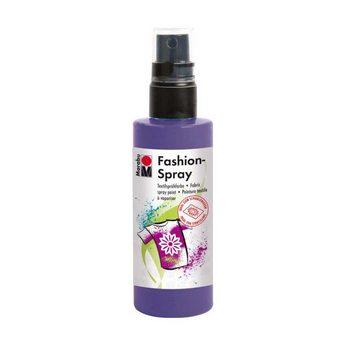 Краска-спрей для ткани Fashion-Spray Marabu, 100 мл., цвет фиолетовый