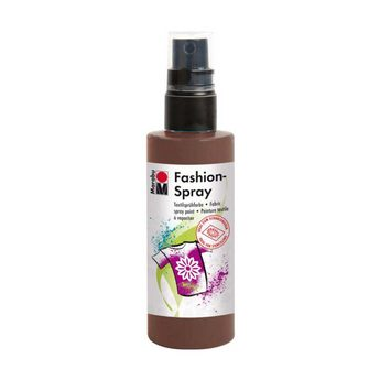 Краска-спрей для ткани Fashion-Spray Marabu, 100 мл., цвет коричневый
