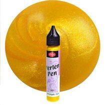 201 Perlen-Pen жемчуг-эффект Солнечный желтый