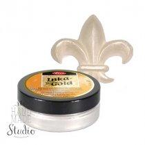 Восковая краска-паста с металлическим блеском Inka-Gold  904 Платина