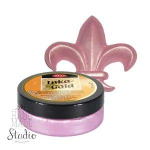 Восковая краска-паста с металлическим блеском Inka-Gold  926 Розовый кварц