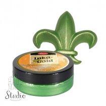 Восковая краска-паста с металлическим блеском Inka-Gold  928 Лесная зелень