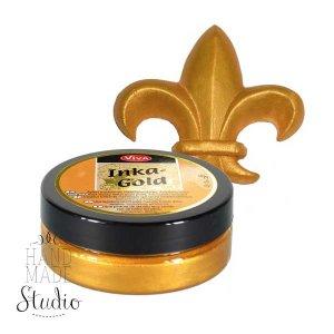 Восковая краска-паста с металлическим блеском Inka-Gold  901 Золото