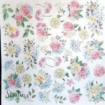 "Лист односторонней бумаги ""Shabby garden"", 30,5x30,5 см, 200 г/м2, 1 лист"
