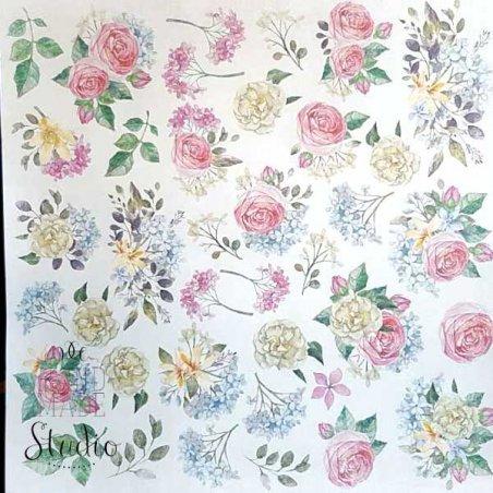 """Лист односторонней бумаги """"Shabby garden"""", 30,5x30,5 см"""