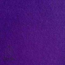 028 Фетр листовой мягкий, цвет темно-фиолетовый