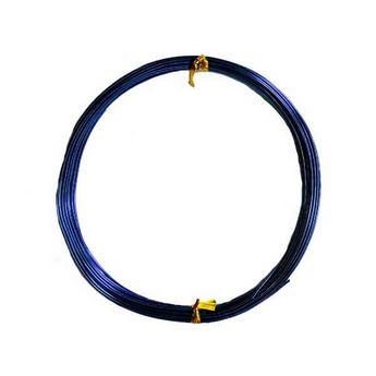 Проволока 1мм, цвет синий (10м)