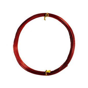Проволока 1мм, цвет красный (10м)