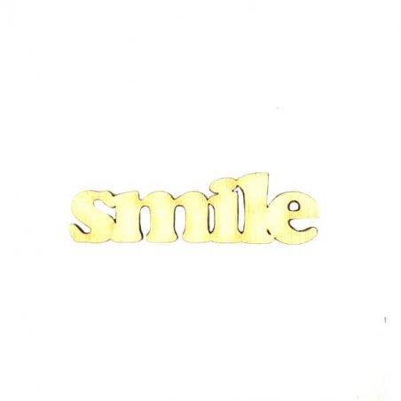 """Малое слово """"Smile"""", 7х2 см"""