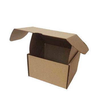 Коробочка для упаковки, цвет крафт 12х10х8 см.