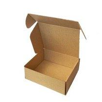 Коробочка для упаковки, цвет крафт 16х14х6 см.