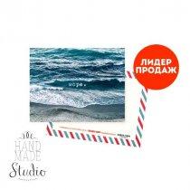 """Мини открытка """"Море"""" 10х7,5 см"""