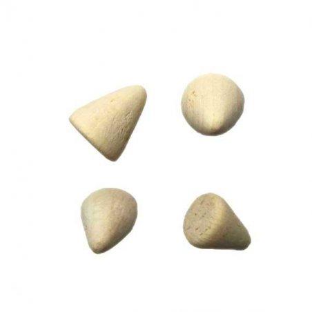 Ножки деревянные, 1,5х1,2 см (4 штуки)