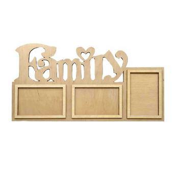 """Рамочки для фотографий  """"Family"""" №1, 58,5х25,5 см"""